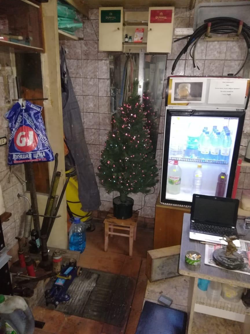 Новый год в гараже