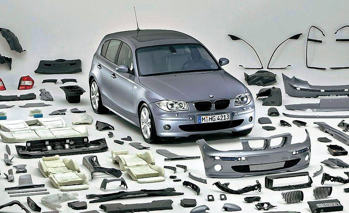 Навесные части автомобиля